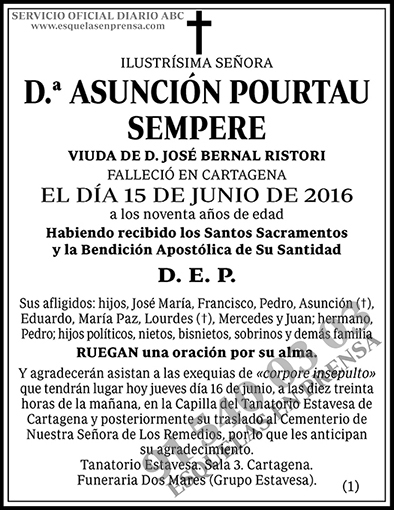 Asunción Pourtau Sempere